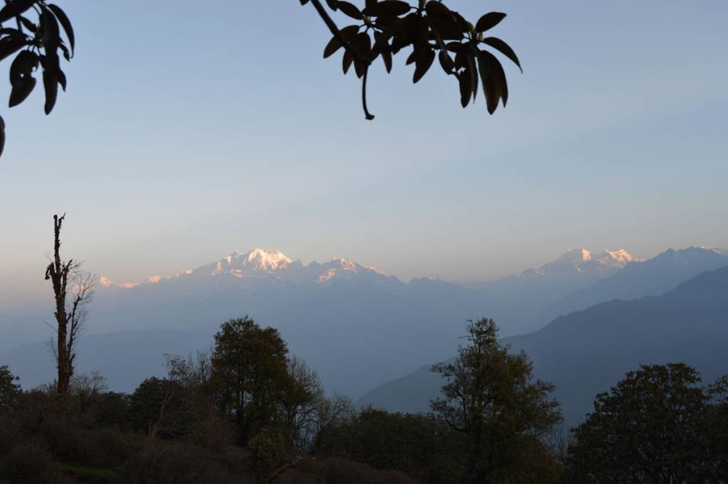 Before I lost in jungle, the view from my was like this Trekking in Nepal