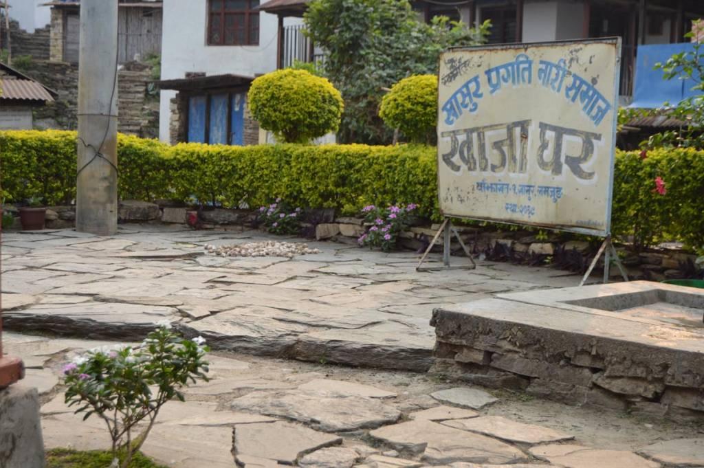 Khajaghar run by women group in khasur Homestay in Nepal