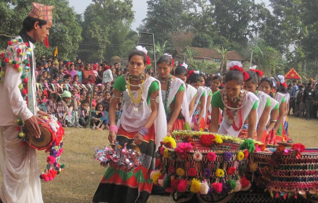Tharu traditional dance homestays in Nepal for tourists