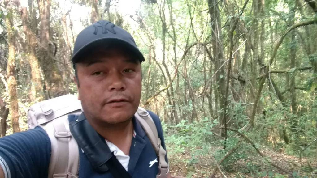 This is the jungle, I lost for 3 hours  Trekking in Nepal