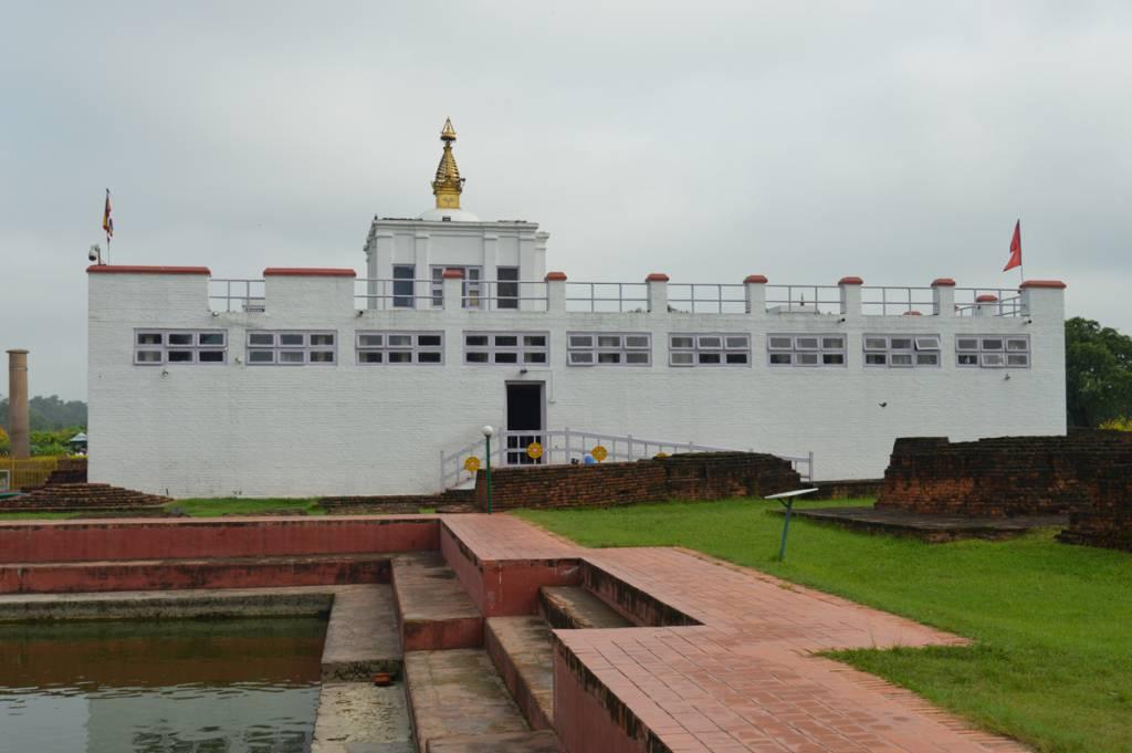 Mayadevi Mandir in Lumbini, birthplace of lord Buddha, world heritage site in Nepal