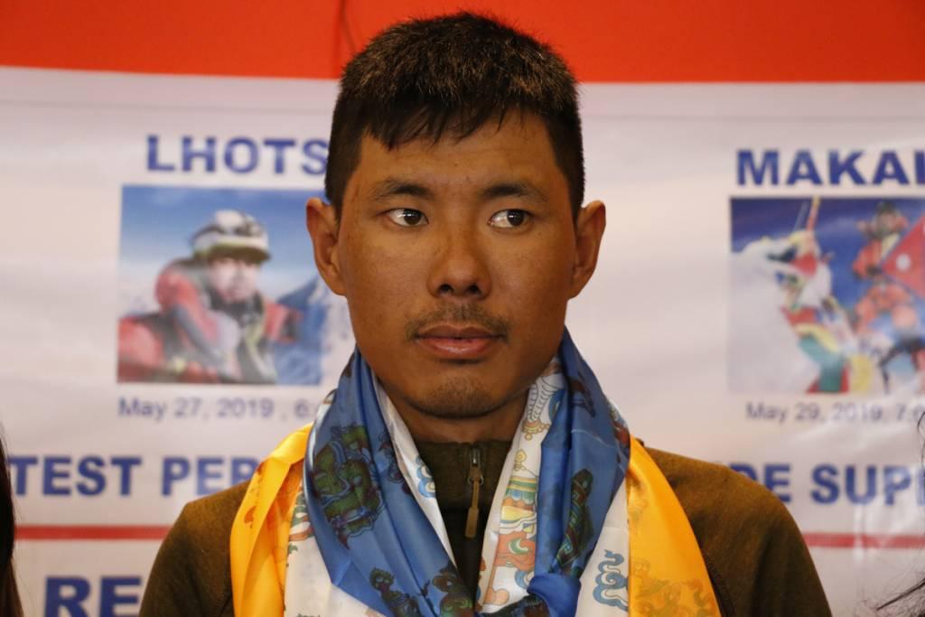 speed climber record on Everest Mingma Dorchi