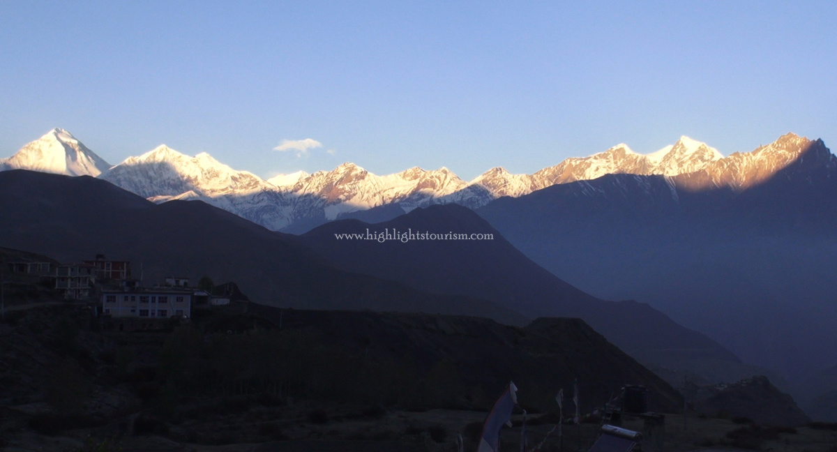 A view from Muktinath