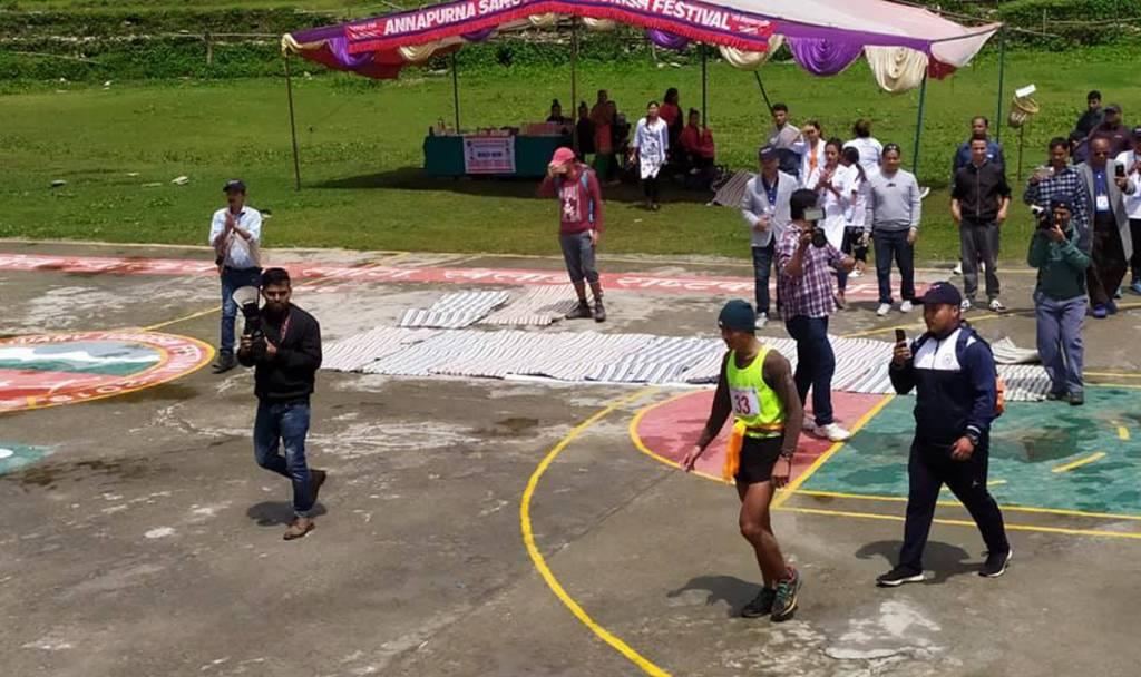 Army's Khagendra Grabs 2nd Annapurna Marathan Title