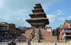 Icon of the Bhaktapur, Nyatpola Temple Cultural tour in Nepal