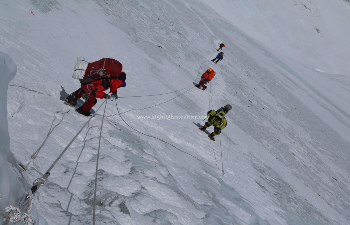 Everest mountaineers