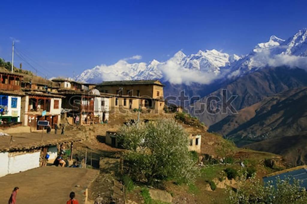 A views of  upper Dolpo Highlights tourism Trekking n Nepal