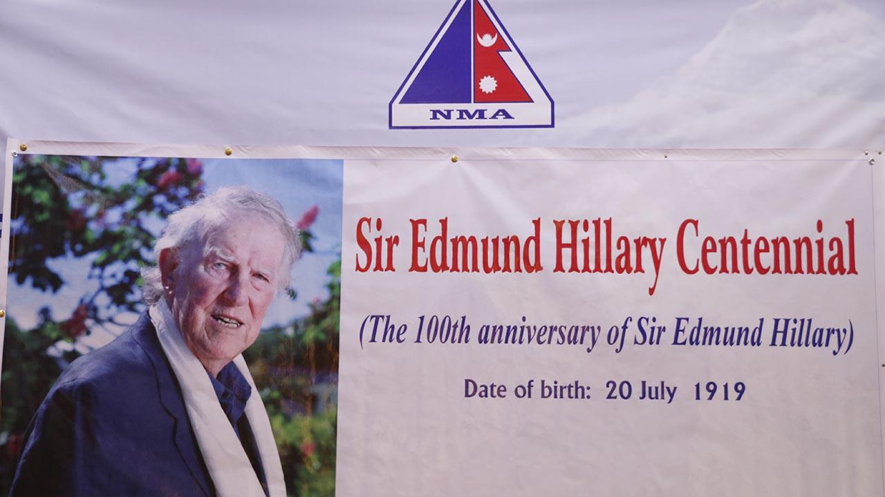 Birth Centenary of Edmond Hillary