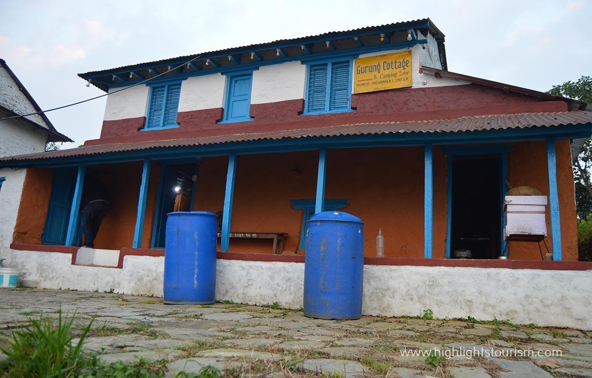 Gurung cottage