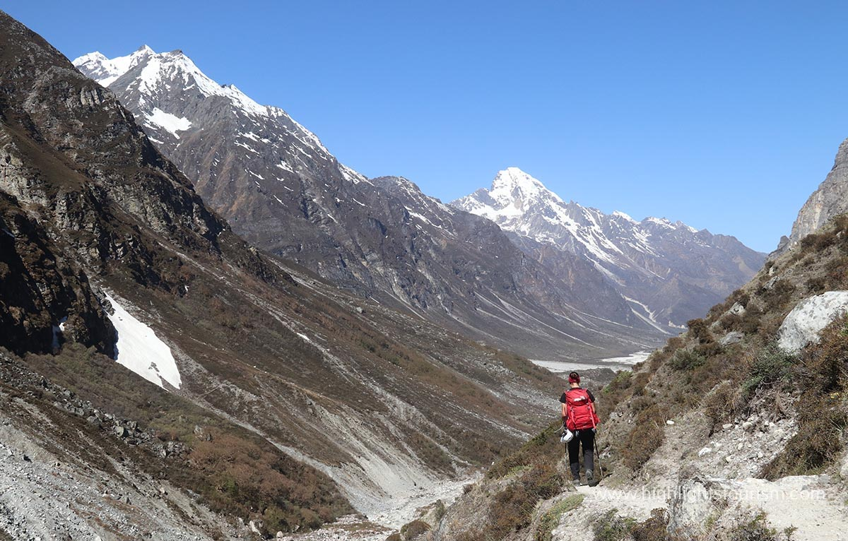 Life Teaching Experience of Swiss lady with Great Himalaya Trail