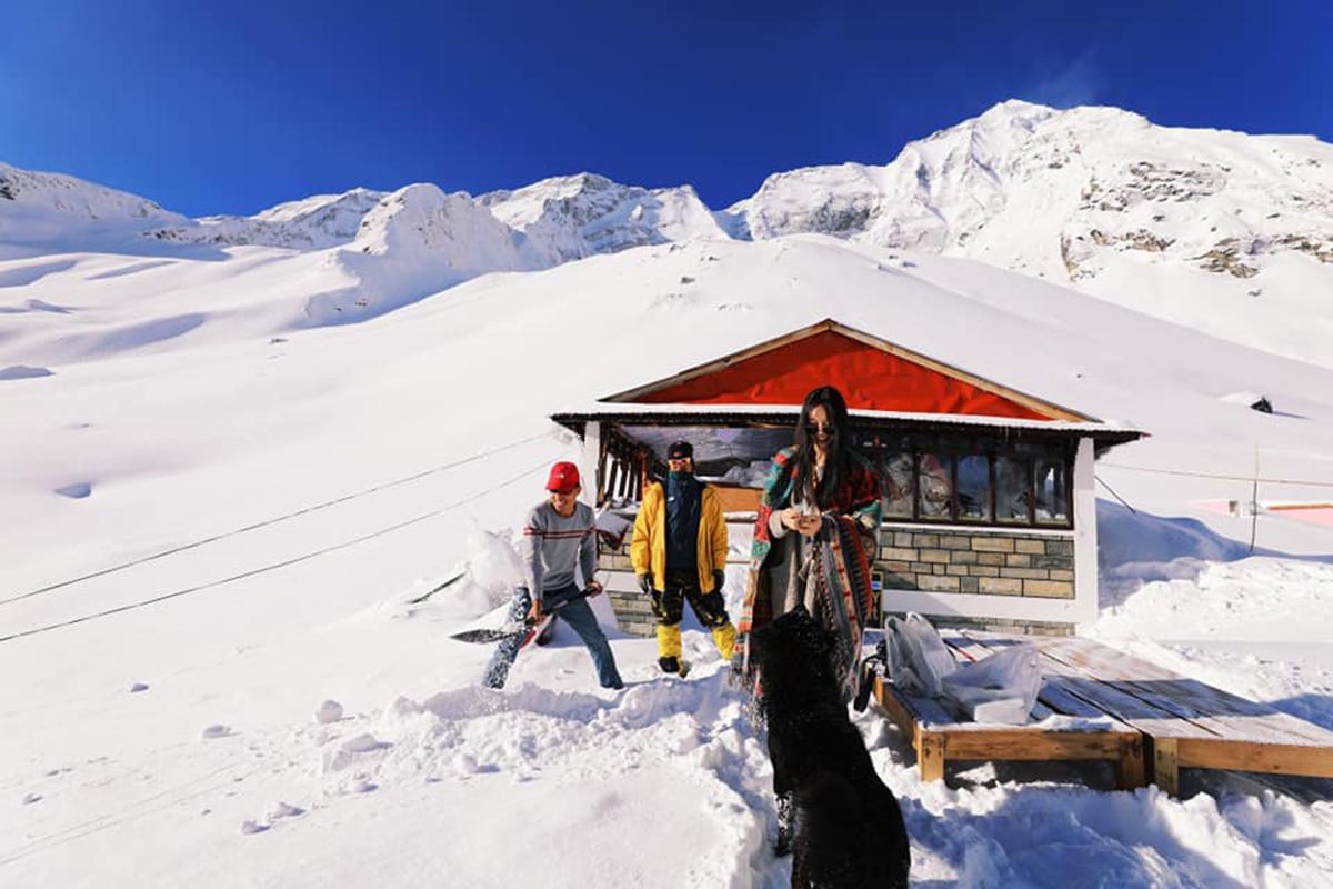 Annapurna base camp hotel