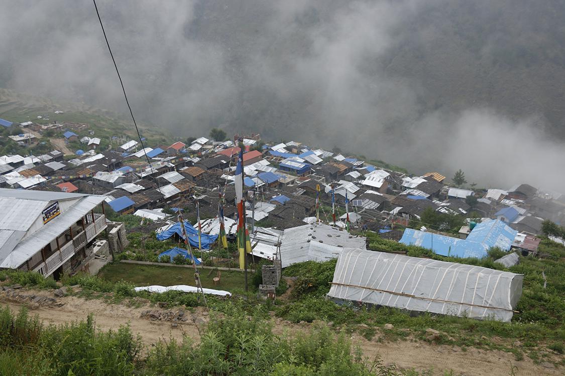 Gatlang village