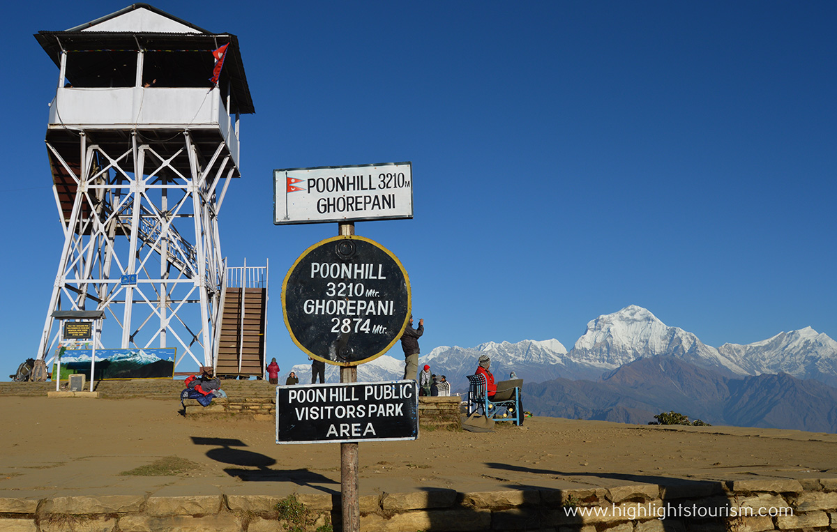 location of Poon hill