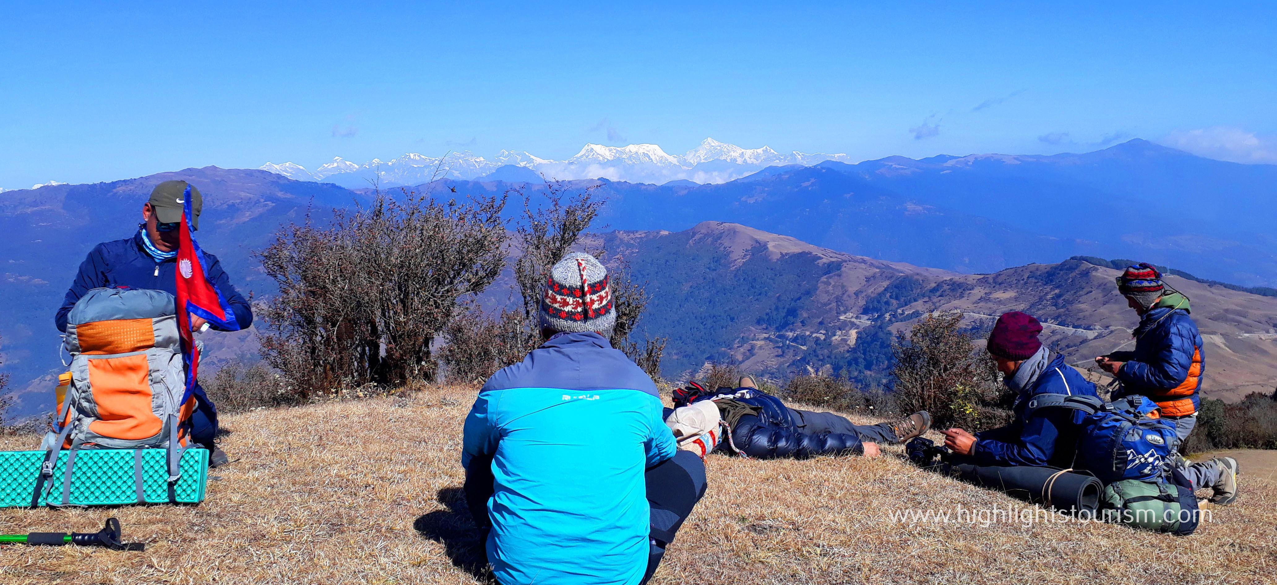 Enjoying the glamour of Mundhum Trek in eastern Nepal