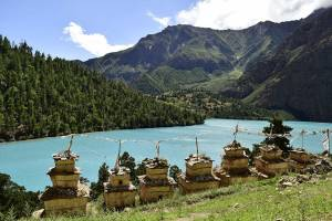 Shey Phoksundo lake: Photo-Pasang Dolpo