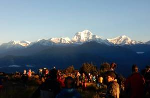 Dhaulagiri seen from Poon hill