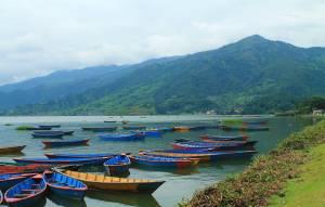 Boating in Pokhara