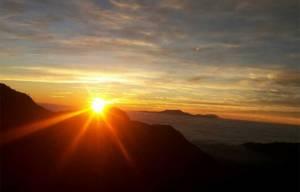 Sunrise from Nagarkot
