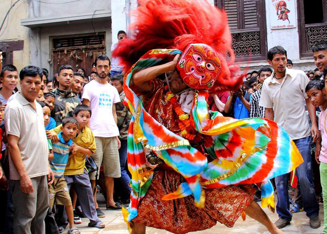 Lakhe dance Photo Pawan Sthapit