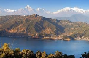 Panchase trek view
