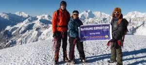 Saribung peak climb