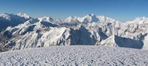Saribung peak view