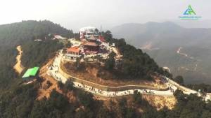 chandragiri hill route