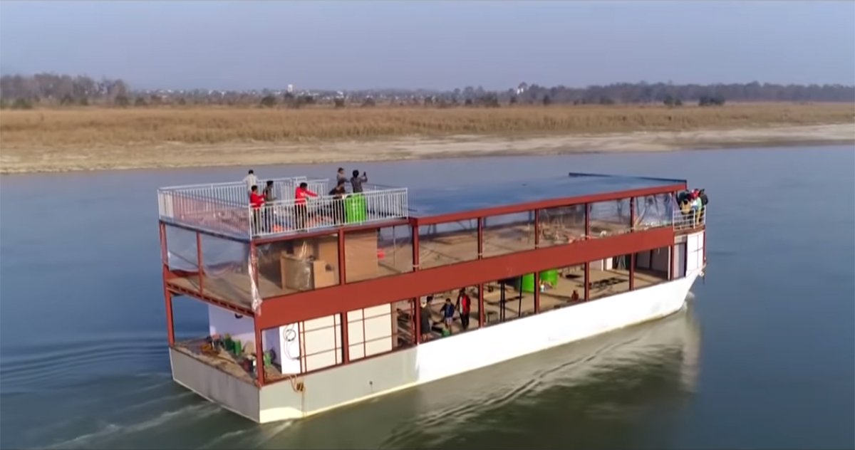Online booking for Cruise ship in Narayani river