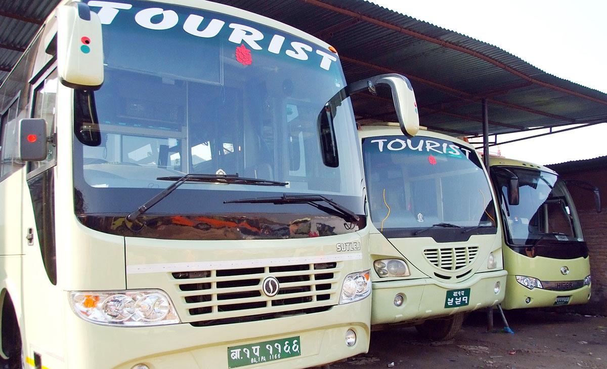 Tourists Bus