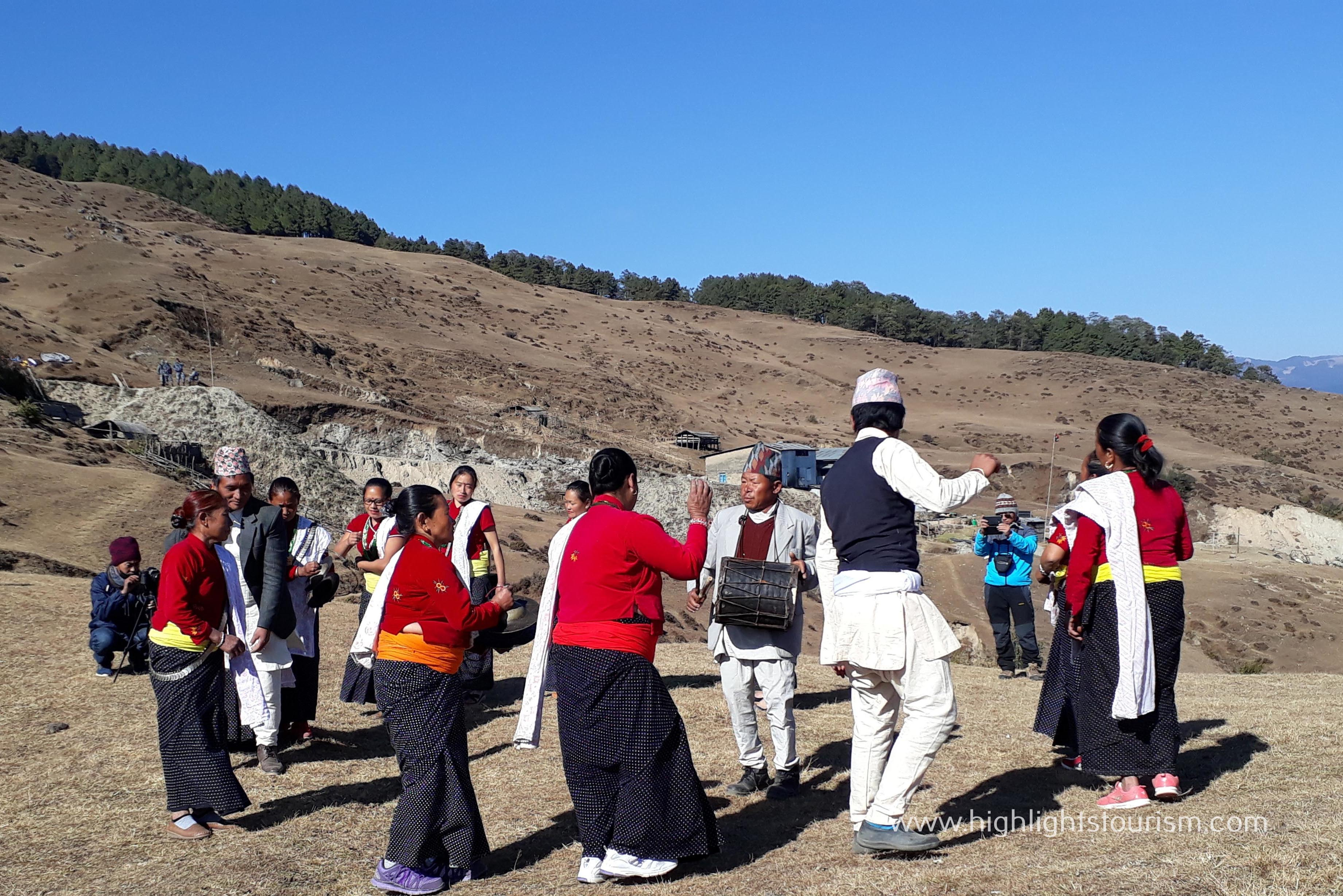 A trail, combination of Kirati myth, culture and nature