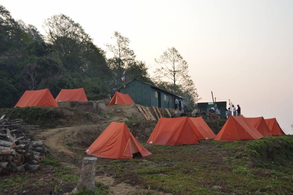 Kalme, on the to Bara pokhari Tourist destination in Nepal