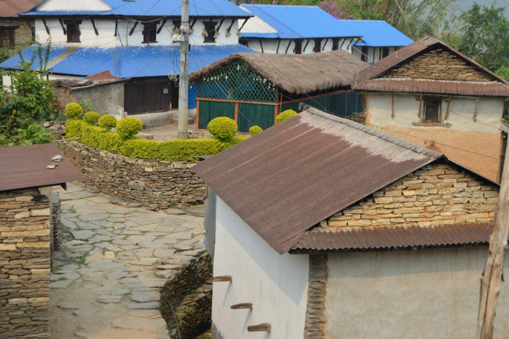 A traditional gurung village in Nepal Homestays for tourists