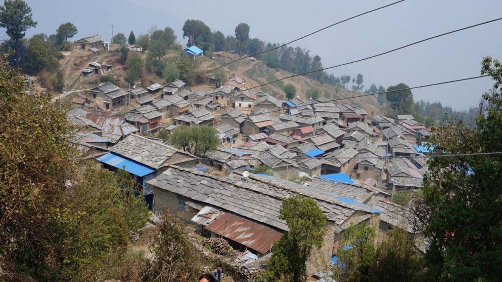 HIstan Village, an indigenous village in the routes