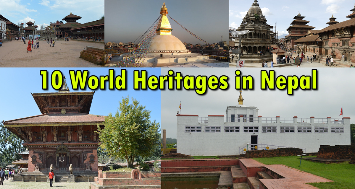 10 world heritage sites in Nepal