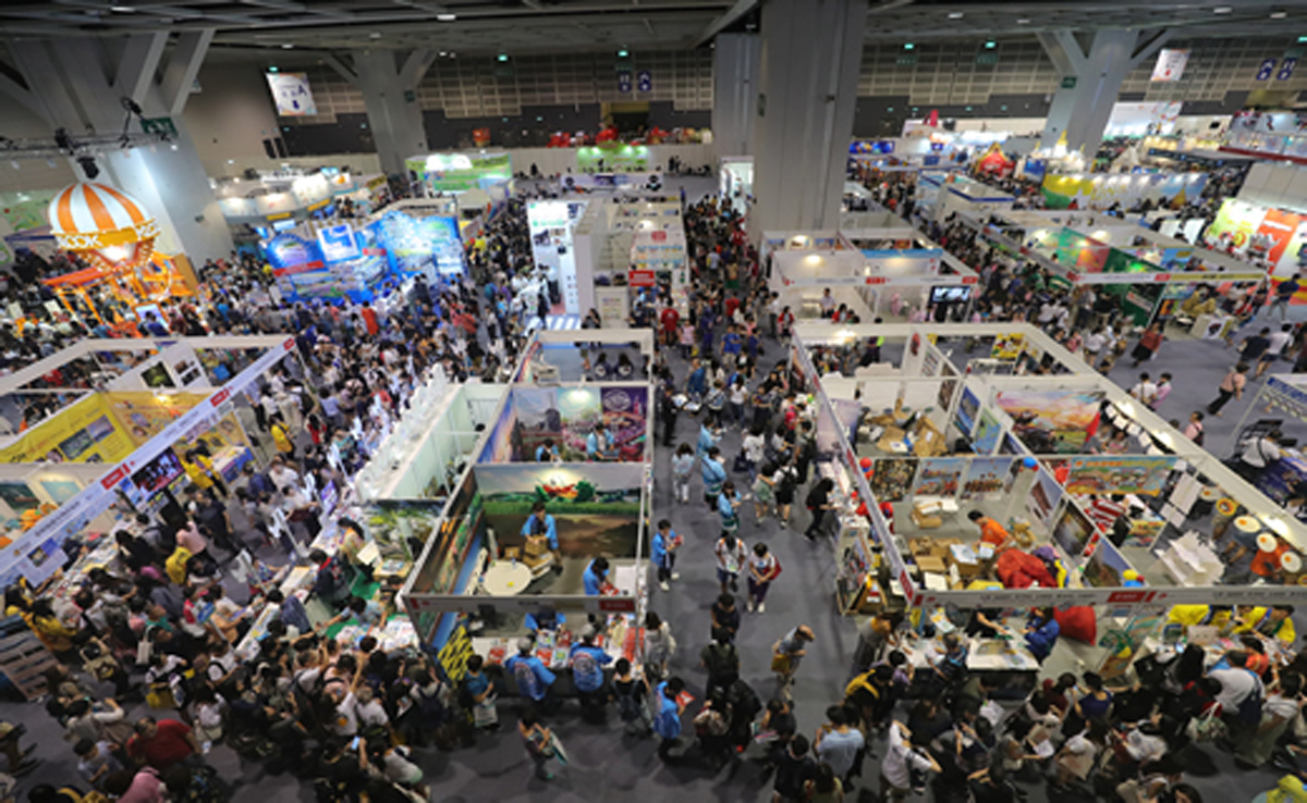33th International Travel Expo (ITE) and the 14 MICE (Meetings, incentives, conferences and exhibitions) expo held in Hong Kong