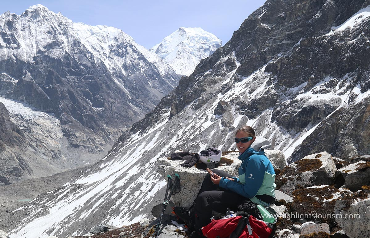 Life Teaching Experience of Swiss lady Trekker with Great Himalaya Trail