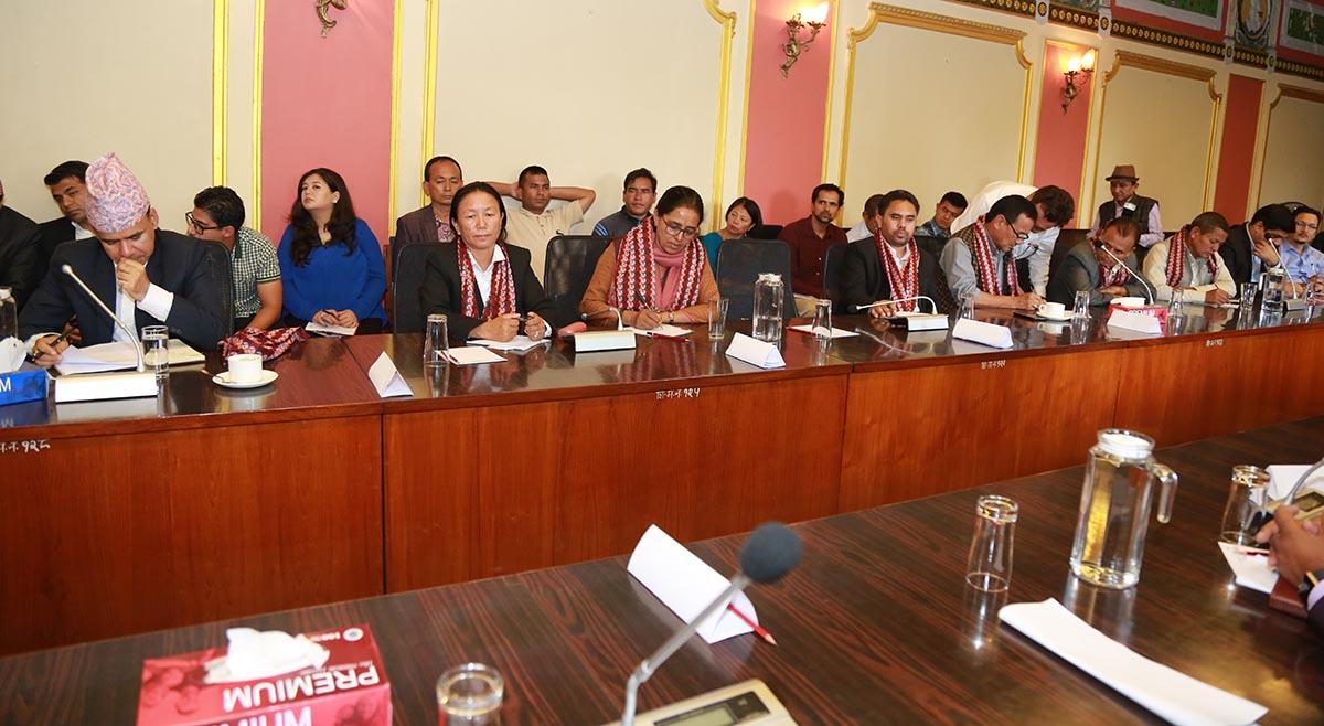 interaction for Karnali tourism