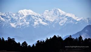 Peak views from Khaptad