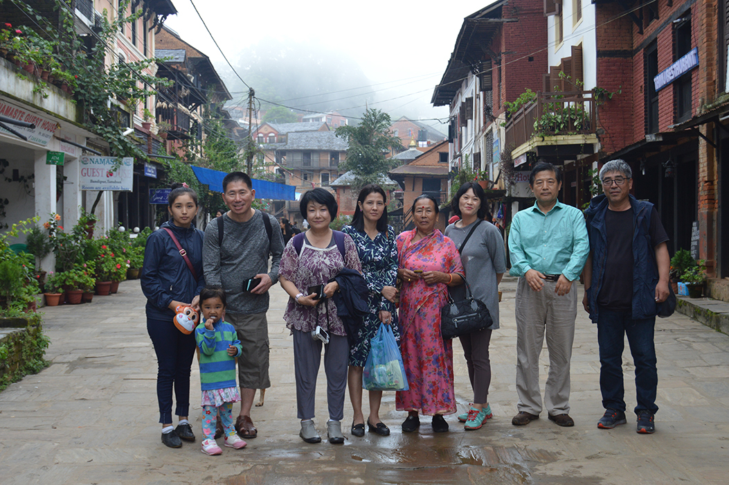 Tourists at Bandipur