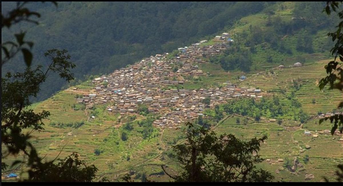 Bhujung village