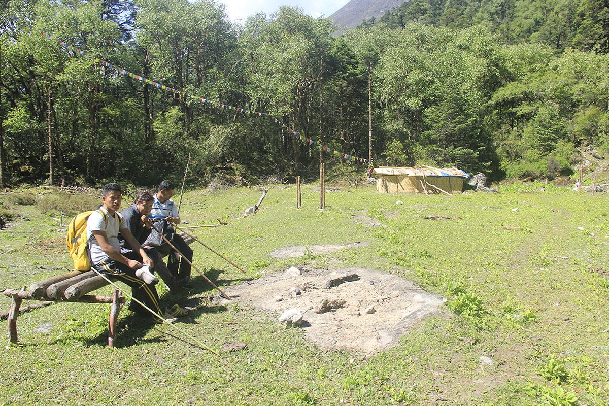 Lapchi-Spiritual Monastery premises