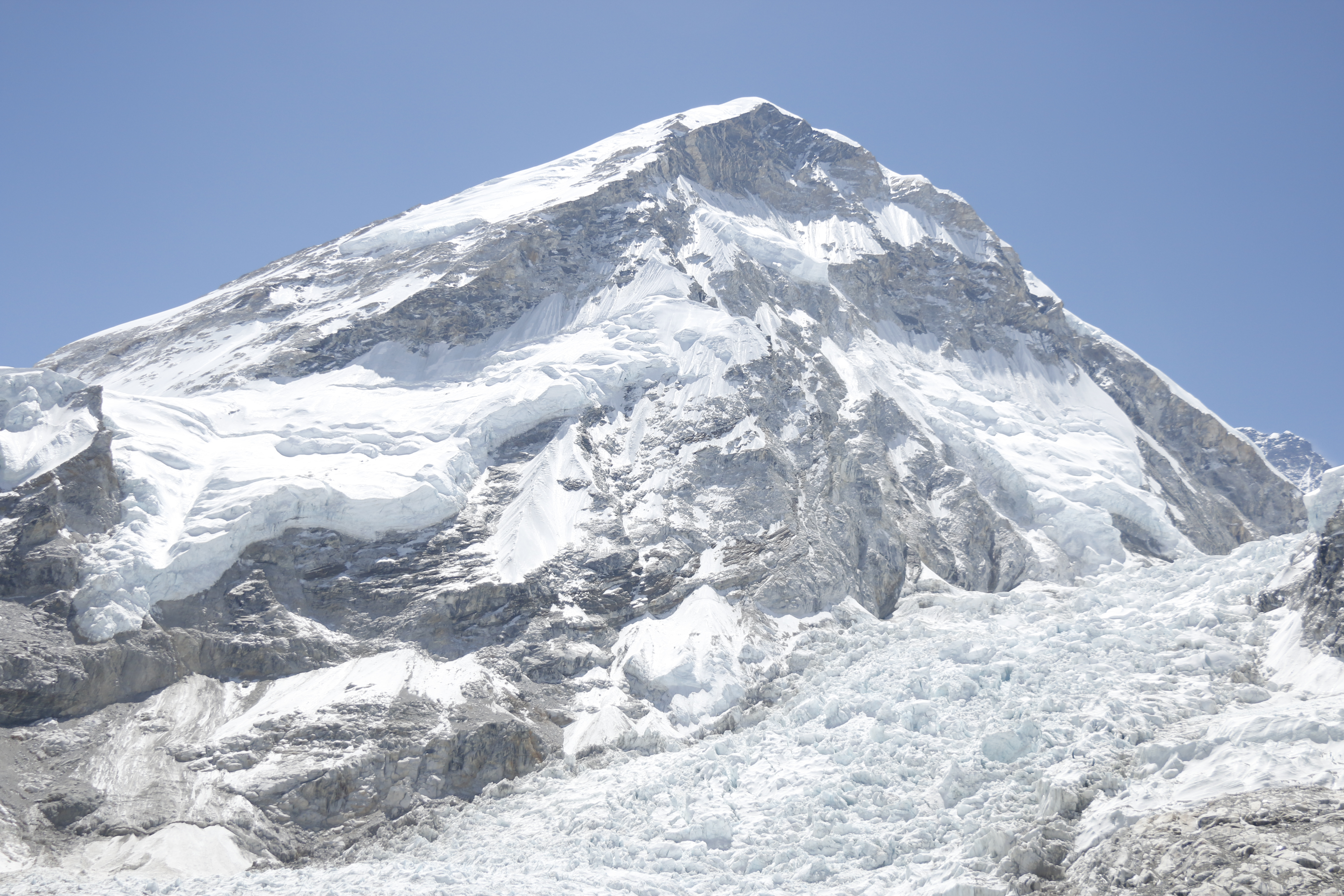 View of himal from base camp