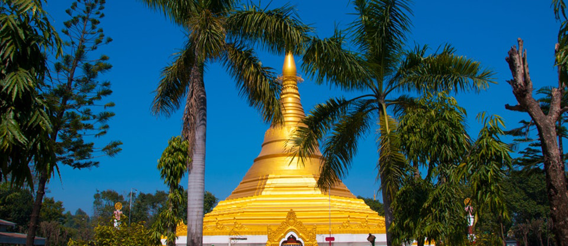 Mynmar golden temple