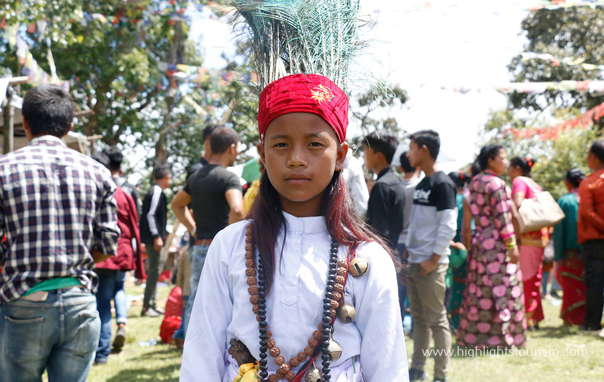 Junior Shaman Binita Thing