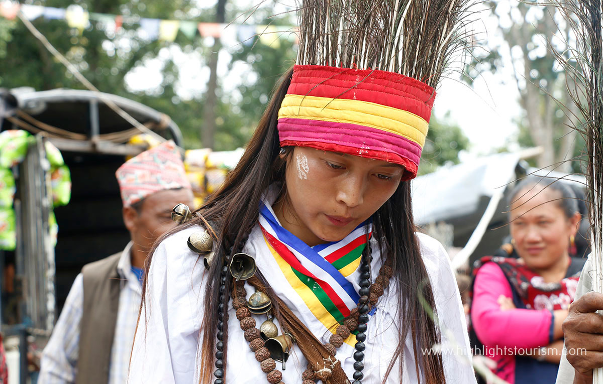 Young Shaman Binita Thing