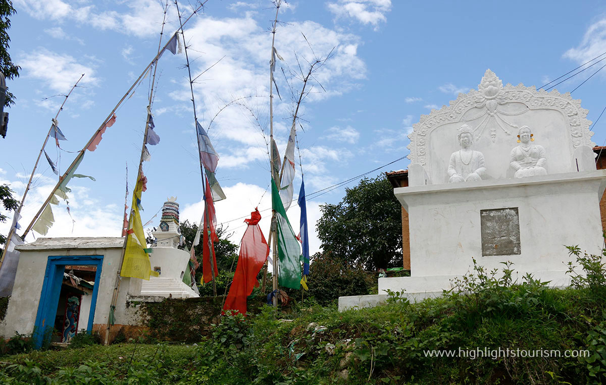 Sacred place of worship for shamans