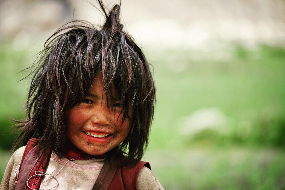 Child from far western region
