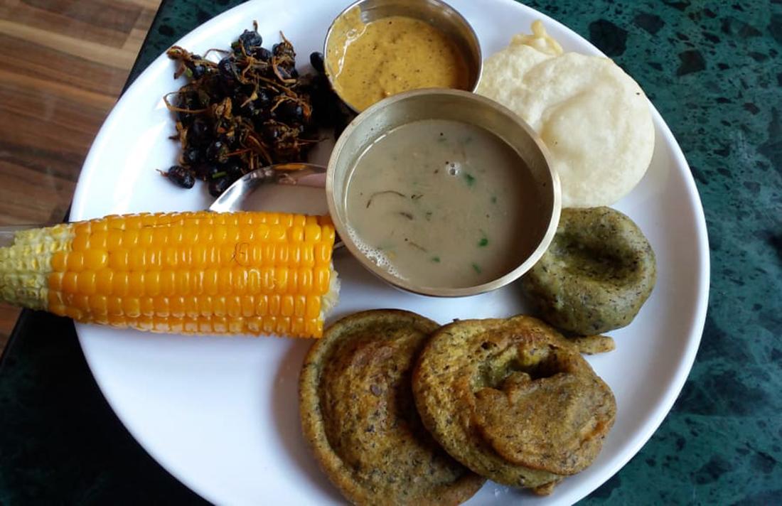 Tamang food