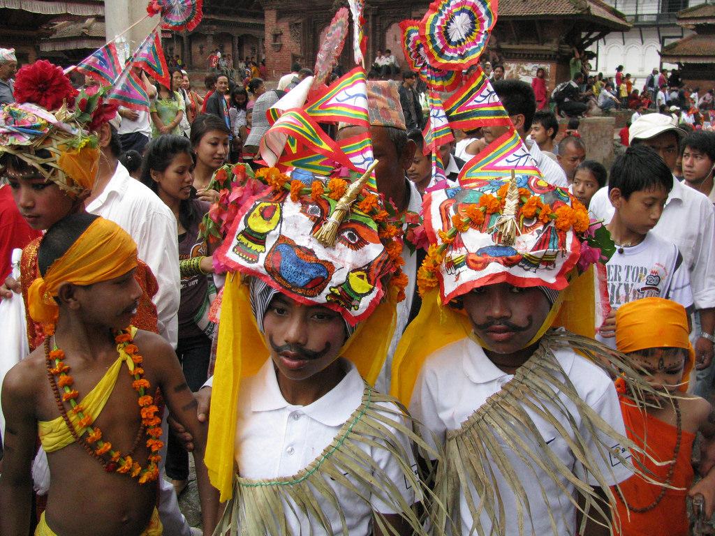 Gayajtra procession