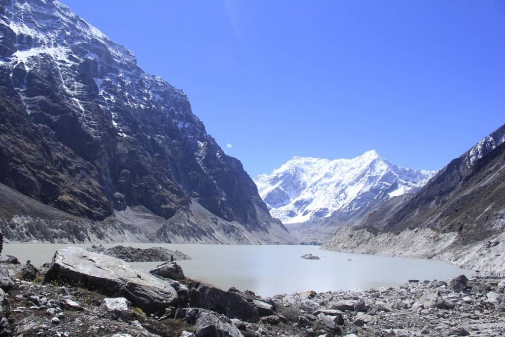 Tsho-Rolpa glacial lake